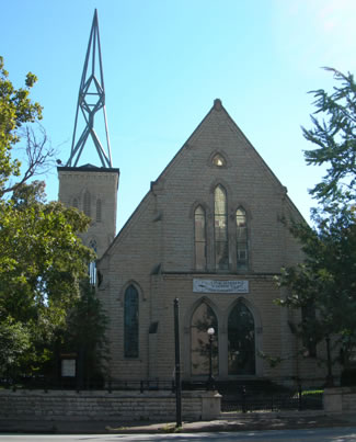 First Unitarian Church, 809 S. 4th St., Louisville