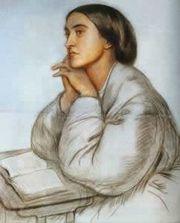 Christina Rossetti, by Dante Gabriel Rossetti