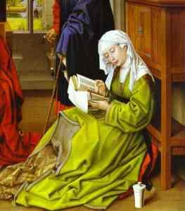 Mary Magdalene (studying), Rogier Van der Weyden c. 1445