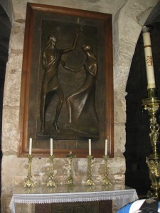 Altar of Mary Magdalene in the Church of the Holy Sepulchre