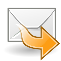 Forward mail graphic
