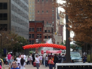 image of Louisville AIDS Walk point of origin
