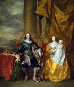 Image of portrait of Henrietta Maria and Charles I by Anthony van Dyck